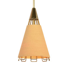 "Cordette pendant, from Moe Lighting's 1958 ""Cordette Series"""