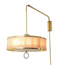 Mid-Century Wall-Mounted Pulley Lamp C1955