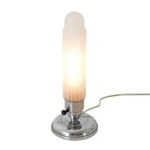 Streamline Moderne Chrome Boudoir Lamp, C1935