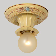 Classical Revival Nursery Beam Light, c1925