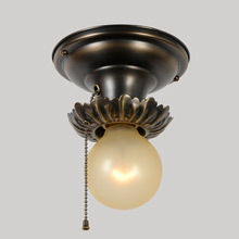 Acanthus Adorned Beam Light, c1925
