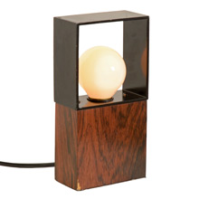 Modern Rectangular Table Lamp c1965
