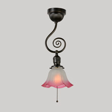 Late Victorian Scroll Light, c1905