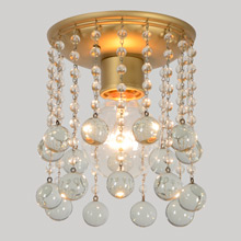 Sparkling Balls and Baubles Ceiling Light