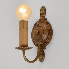 Pair of Moe Bridges Candle Sconces, c1925