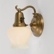Colonial Revival Curvy Sconce, c1920