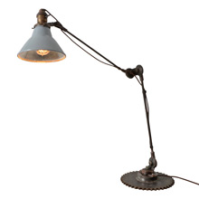 "Make-Do Hybrid McCrosky ""Searchlight"" Table Lamp"