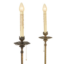 Pair of Historic Revival Floor Lamps C1925