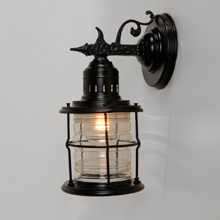 Medievally Inspired Historic Revival Porch Light C1935