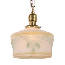 Simple Colonial Revival Pendant Light C1930