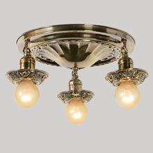 Classical Revival Pan Light, c1920s