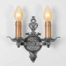 "Virden ""Beacon Hill"" Double Sconce, C1929"