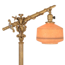 Impressive Historic Revival Bridge Lamp C1928