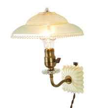 Darling Pin-Up Wall Light W/ Plastic Shade C1935