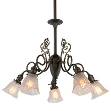 Transitional 5-Light Chandelier, C1900