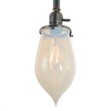 Pipe Pendant w/Rare Pearl Opalescent Stalactite, c1905