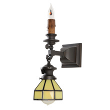 Unique and Charming Gas/Electric Sconce C1910