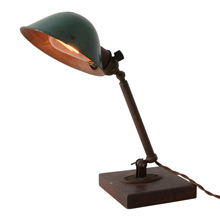 Primitive Industrial Stick Lamp C1905