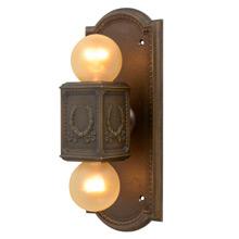 Classical Revival Cast Bronze Elevator Indicator Light C1925
