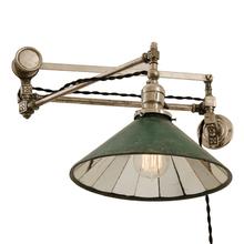 Incredible Nickel Plated Articulating Lamp by Beardslee c1895