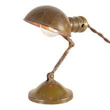 "Adjustable/Collapsible ""Handilamp"" Metal Desk Light, C1935"