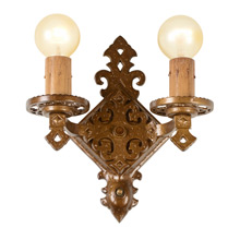 Virden Double Light Sconce C1930