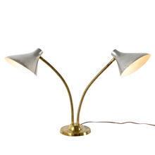 Two-Headed Task Lamp by the Laurel Lamp Co C1955