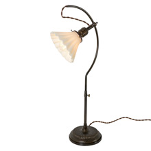 Rare No.22 Faries Adjustable Desk Lamp, C1900