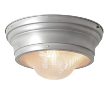 Industrial Flush Mount Fixture w/ Prismatic Lens by Perfeclite C1945