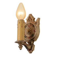 Pair of Revival-Style Sconces By Champion, C1928