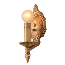 Pair Of Art Deco Sconces By Markel, C1928