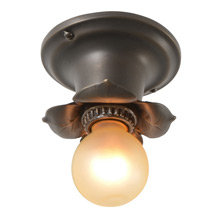Dignitary Bare Bulb Beam Light, C1920