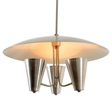 Spectacular Mid-Century Up Lit Chandelier C1950s