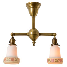 Mitchell Vance 2-Light Ceiling Fixture C1913
