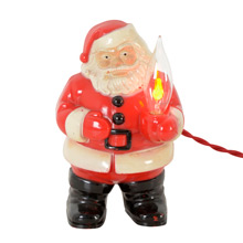 Royal Electric Company Santa Claus Light C1950s