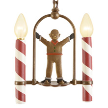 Festive Gingerbread Man Light by Lincoln c1938