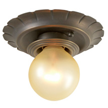 Simple and Refined Historic Revival Beam Light C1930