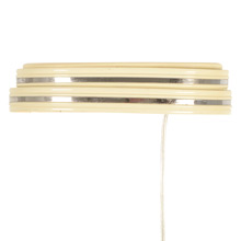 "Classic Cream  Moderne ""Wall Pocket"" Pin Up Sconce, C1935"