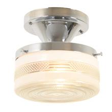 Period Basic Petite Semi-Flush Mount Light C1955