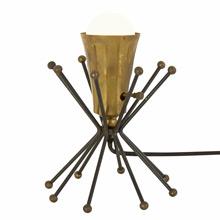 Celestial Mid-Century Wire Accent Lamp c1960s