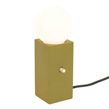 Petite Modern Block Light c1968