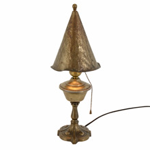Stylish Romance Revival Boudoir Lamp c1928