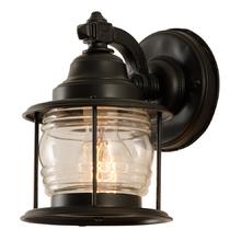 Traditional Entry Lantern w/ Fresnel Shade c1935