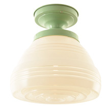 Streamline-Era Semi-Flush Light C1935