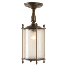 Classical Revival Entry Light w/ Textured Glass c1925