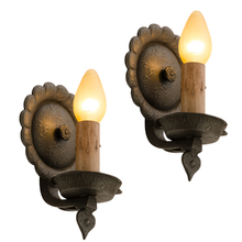 Pair of Wrought-Style Colonial Revival Wall Sconces c1935