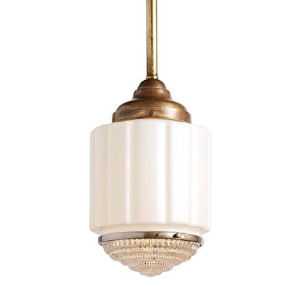 pendant lighting vintage. delighful pendant art deco lens pendant w patinated finish to lighting vintage n