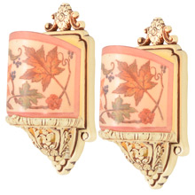 Pair of Lovely Sconces by Lightolier, C1928