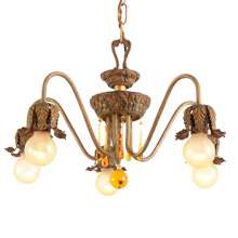 All Original Colonial Revival Chandelier By Moe Bridges C1928