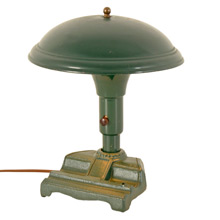 Forest Green Streamline Desk Lamp C1935